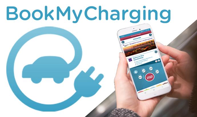 BookMyCharging aplikacija za upravljanje